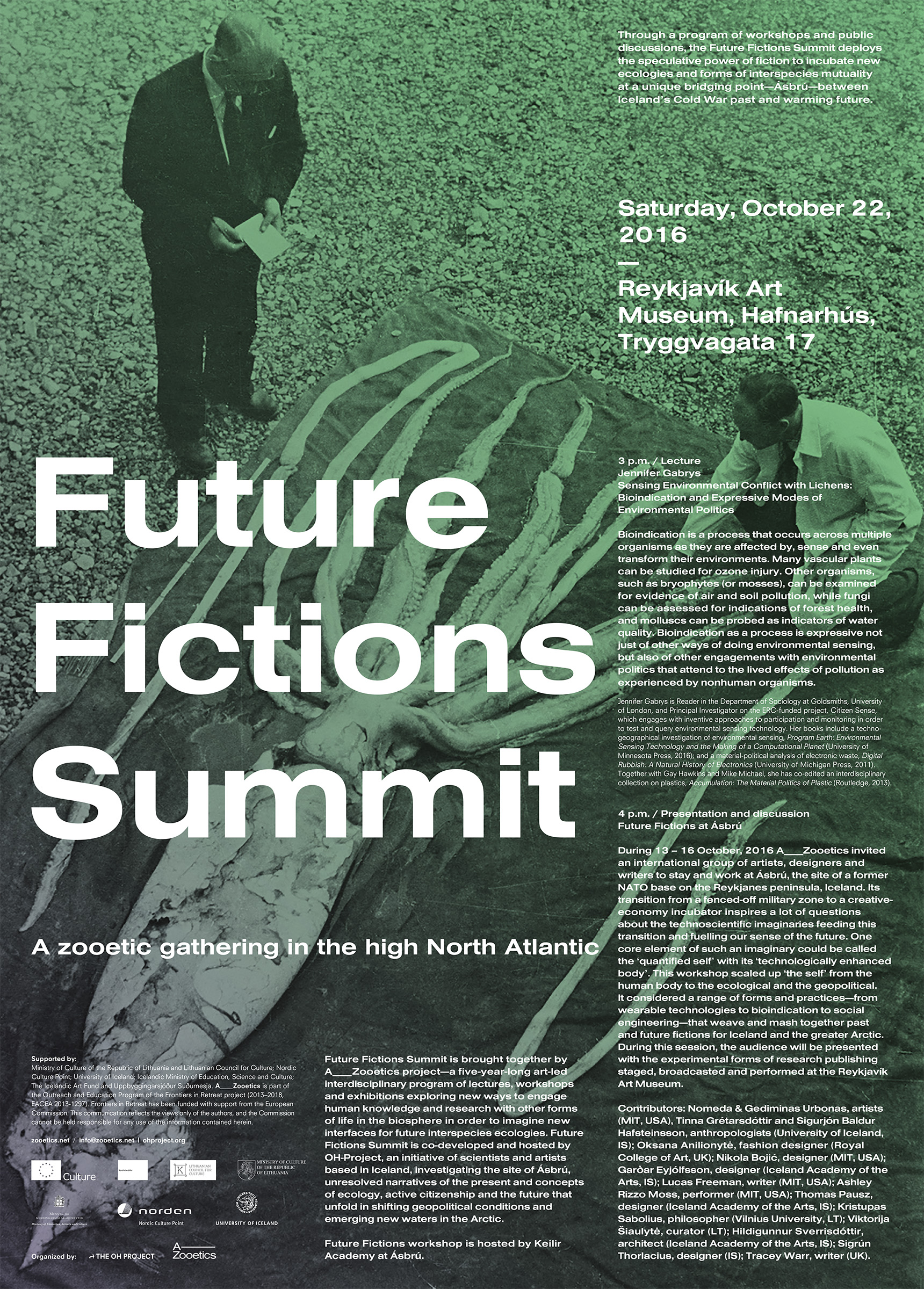 Zooetics — Future Fictions Summit in Iceland
